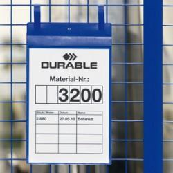 50 BUSTE IDENTIFICAZIONE 210x297mm (A4-VERT.) con FASCETTE 1750 Durable