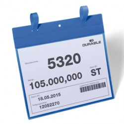 50 BUSTE IDENTIFICAZIONE 297x210mm (A4-ORIZ.) con FASCETTE 1751 Durable