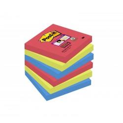 BL.6 Post-it Super Sticky Notes 654-6SS-JP BORA BORA 3M 76431
