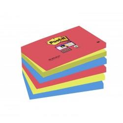 BL.6 Post-it Super Sticky Notes 655 BORA BORA 3M