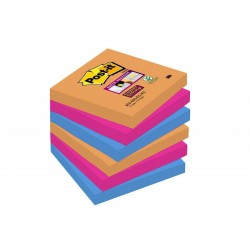 BL.6 Post-it Super Sticky Notes 654 BANGKOK 3M