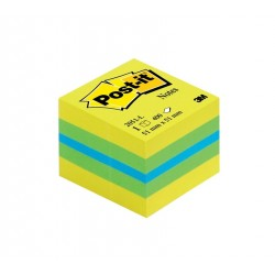 MINICUBO 3M Post-it Notes 2051-L Neon GIALLO