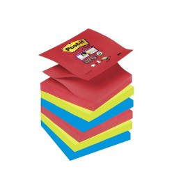 BL.6 Post-it Super Sticky Z-Notes R330 BORA BORA 3M