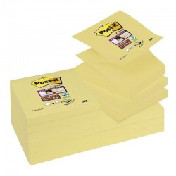 BL.12 Post-it Z-Notes Super Sticky R330 GIALLO CANARY 3M