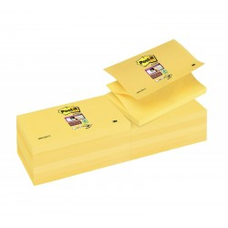 BL.12 Post-it Z-Notes Super Sticky R350 GIALLO CANARY 3M