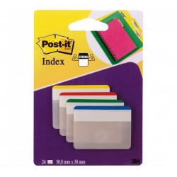 BLISTER 24 CAVALIERINI Post-it Index STRONG 686F-1EU 3M
