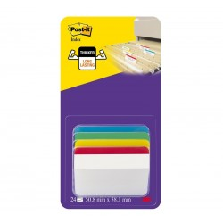 BLISTER 24 CAVALIERINI Post-it Index STRONG 686A-1 3M