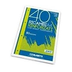 RICAMBIO ANTISTRAPPO      A4 15 FG. RIGHE GR.100
