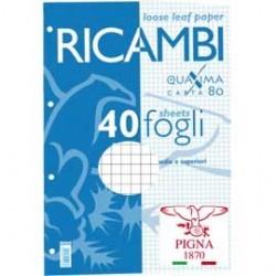 RICAMBI RINFORZATI RIGATURA Q A4 FG.40