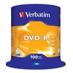 CAMPANA DA 100 DVD -R    COMPRESA SIAE 43549/100