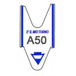 5 ROTOLI da 2000 TICKETS BLU per ELIMINA CODE Printex