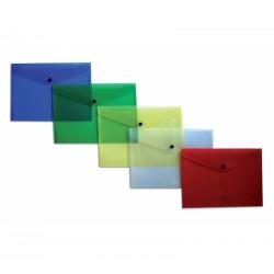 BUSTA CON BOTTONE  7016 PLAST IDEA A5 CONF.5