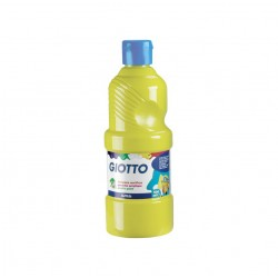 FLACONE 500ML TEMPERA    ACRILICA GIALLO