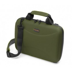 BORSA PORTA PC CAMBRIDGE 13 RIGIDA PETROLIO FEDON