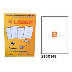 23223 ETICHETTE LASER    APLY 210X148 FG.100