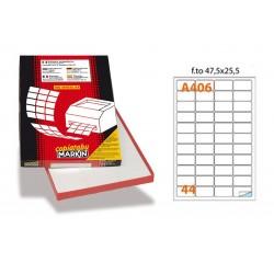 16006 SC.100 FG ETICHETTELASER IN LINEA 47.5X25.5