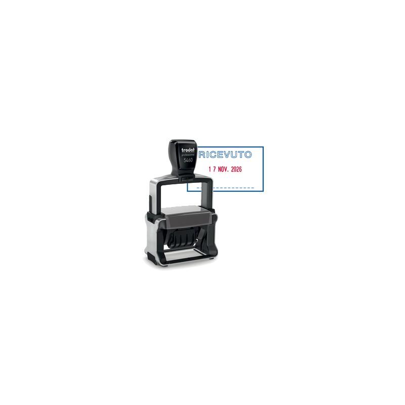 b62b0ffef3 TIMBRO DATARIO + RICEVUTO 5460/PR4/L1 AUTOINCHIOSTRANTE Professional TRODAT