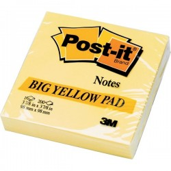POST-IT 3M 5635 98x98 mm BIG YELLOW PAD