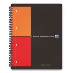 BLOCCO SPIRALATO OXFORD INT. NOTEBOOK 5MM A4+