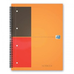 BLOCCO SPIRALATO OXFORD INT. NOTEBOOK RIGATO C/M