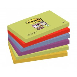 BL.6 Post-it Notes Super Sticky 655-6SS-MAR-EU 3M