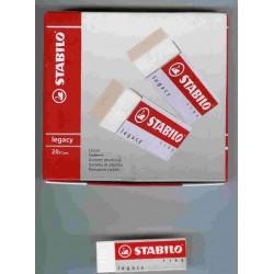GOMMA BIANCA LEGACY STABILO 1186 PVC