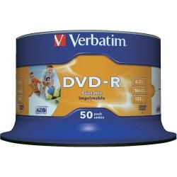 SC.50 DVD-R STAMPABILE 4.7 GB Verbatim