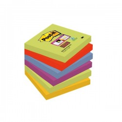 BL.6 Post-it Notes Super Sticky 654 MARRAKESH 3M