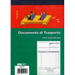 BLOCCO DDT 23X14,8CM (A5) 33fg 3 COPIE AUTORIC